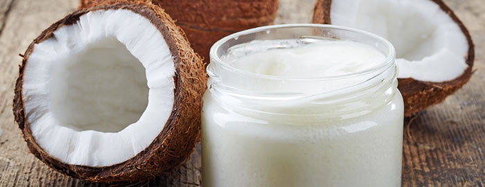 coconut oil and coconut lotion